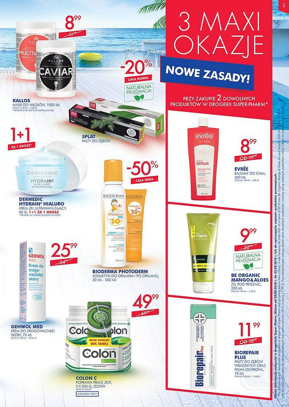 Gazetka promocyjna Superpharm do 22/08/2018 str.2