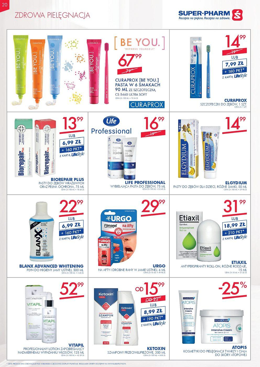 Gazetka promocyjna Superpharm do 12/09/2018 str.20