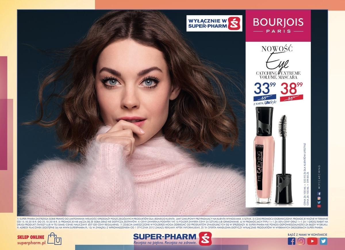 Gazetka promocyjna Superpharm do 25/10/2018 str.12