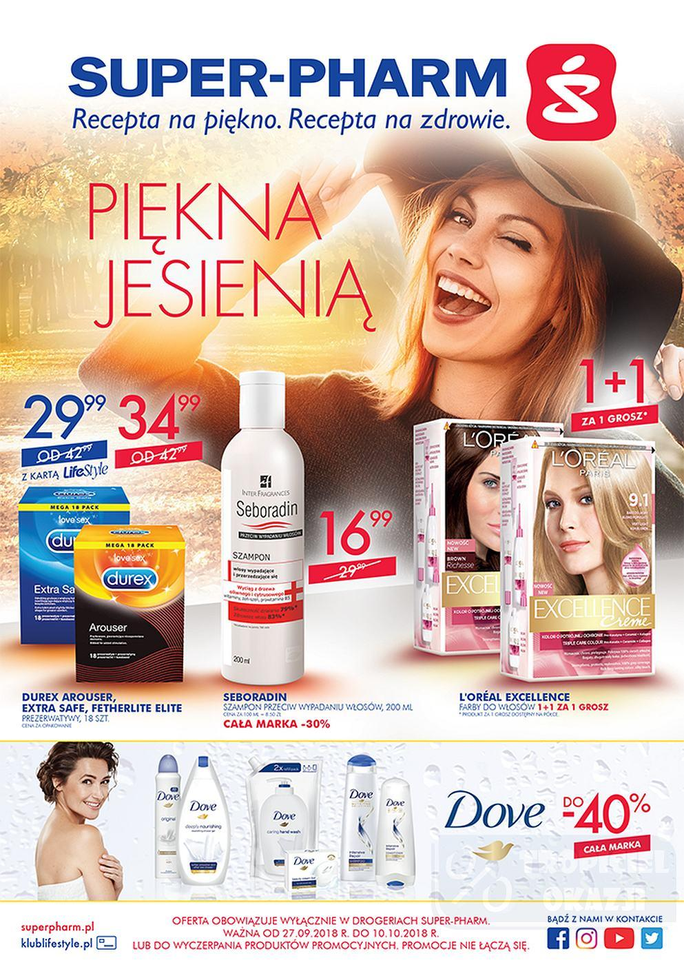 Gazetka promocyjna Superpharm do 10/10/2018 str.0