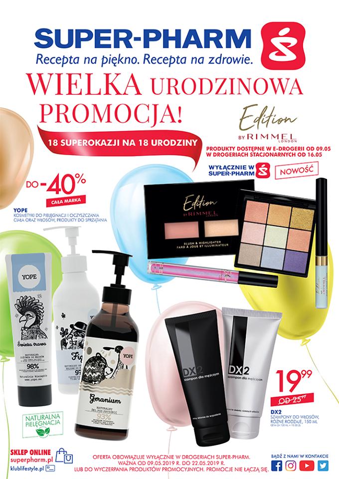 Gazetka promocyjna Superpharm do 22/05/2019 str.1