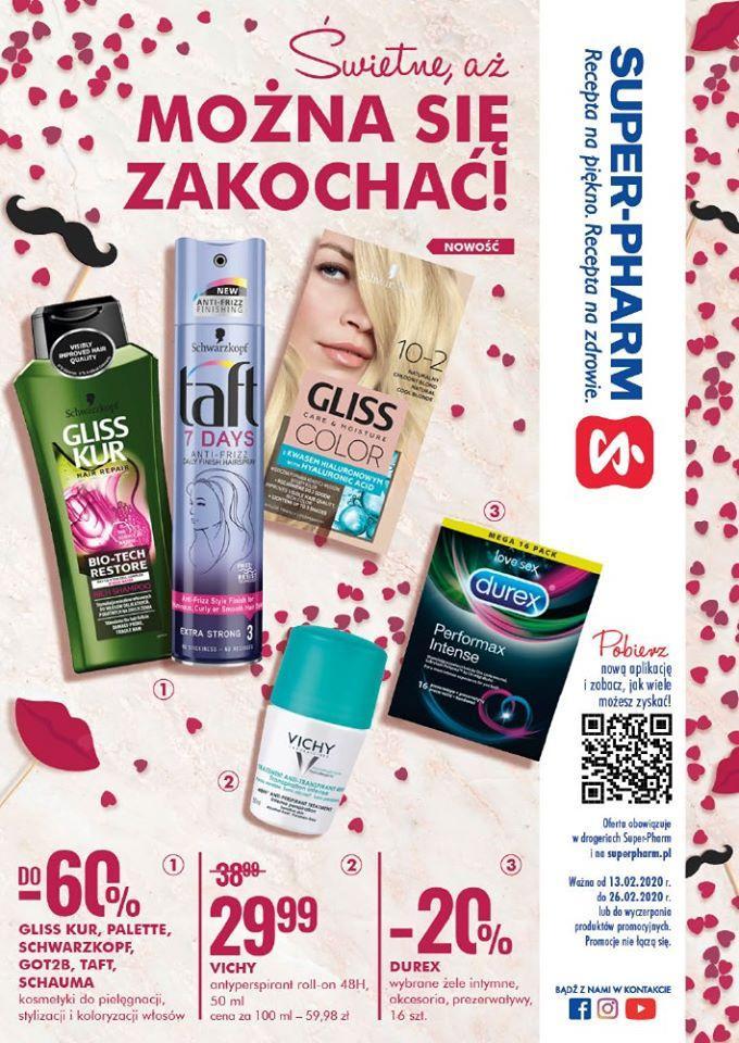 Gazetka promocyjna Superpharm do 26/02/2020 str.1