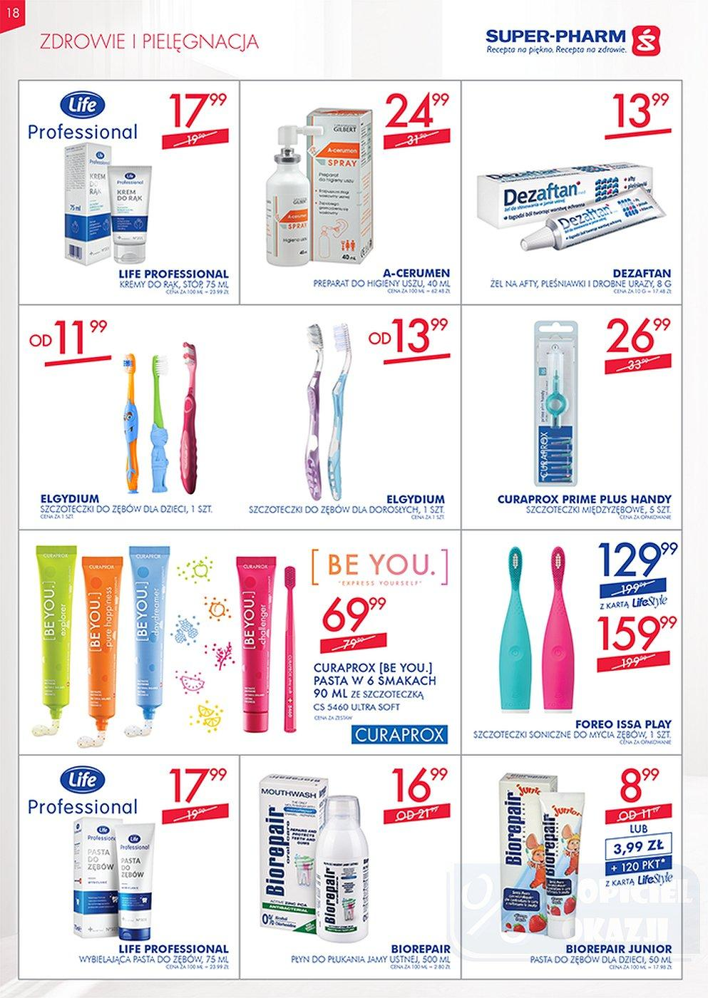 Gazetka promocyjna Superpharm do 10/10/2018 str.18
