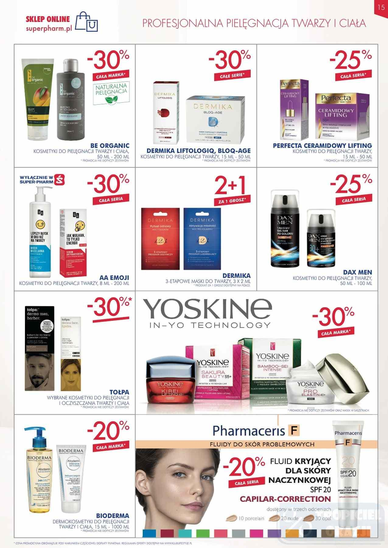 Gazetka promocyjna Superpharm do 12/12/2018 str.15