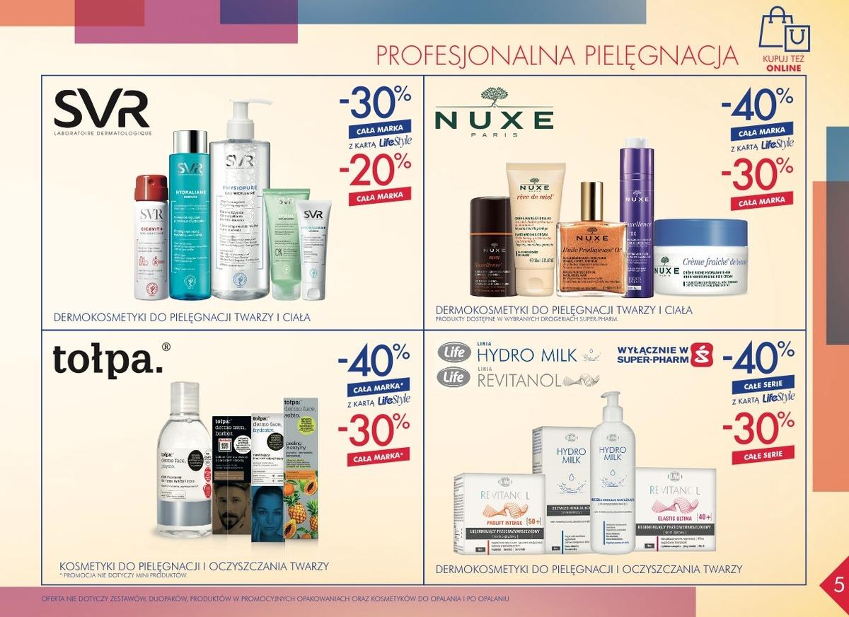 Gazetka promocyjna Superpharm do 25/10/2018 str.5