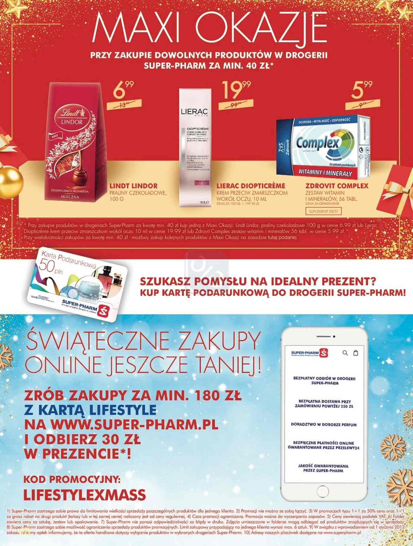 Gazetka promocyjna Superpharm do 24/12/2018 str.48