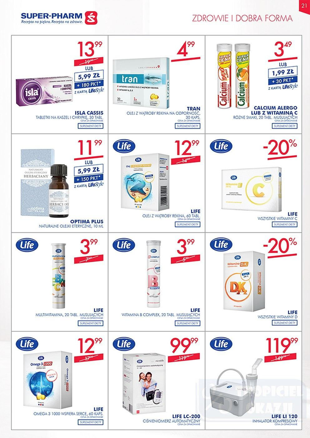 Gazetka promocyjna Superpharm do 10/10/2018 str.20