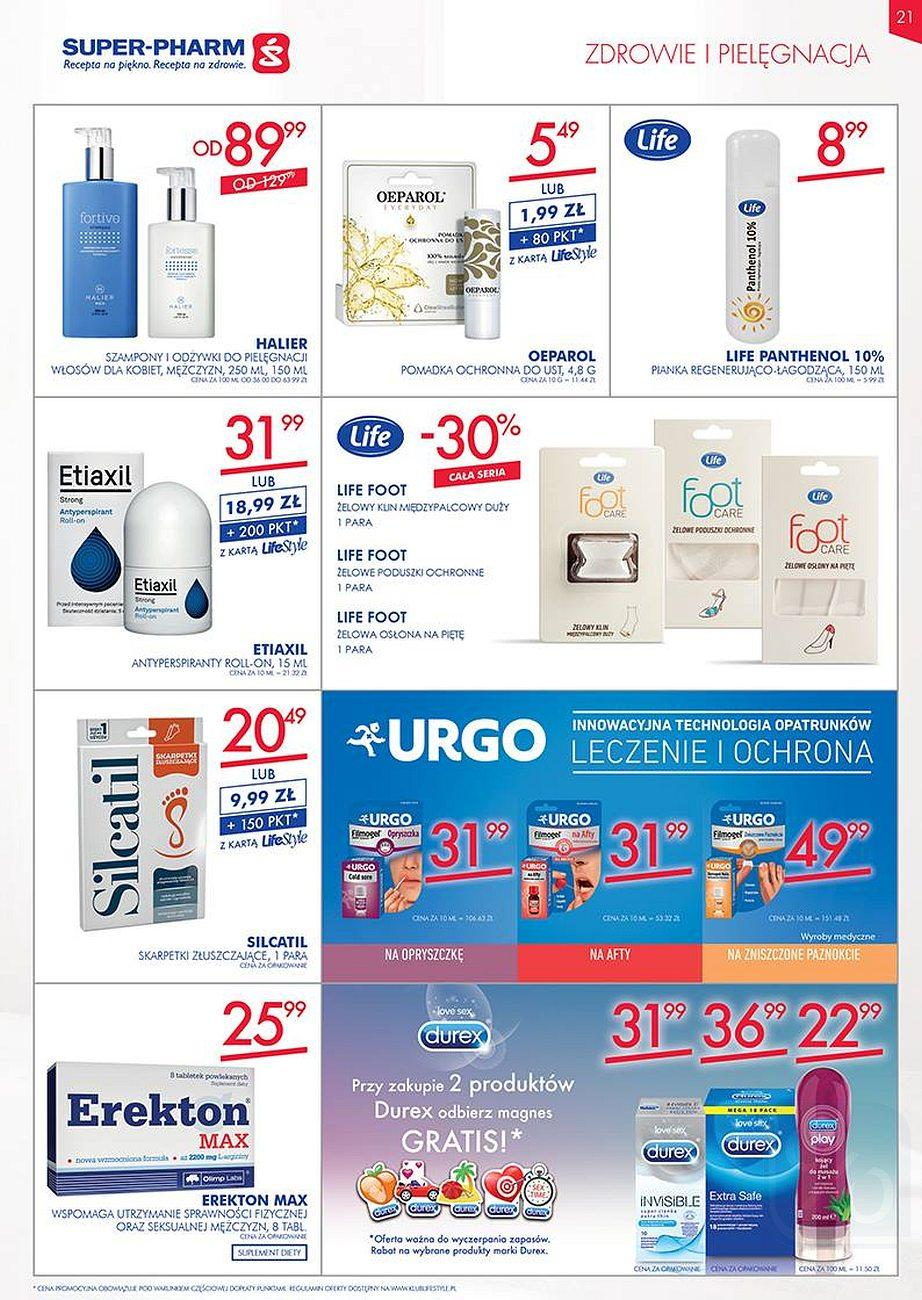 Gazetka promocyjna Superpharm do 22/08/2018 str.21