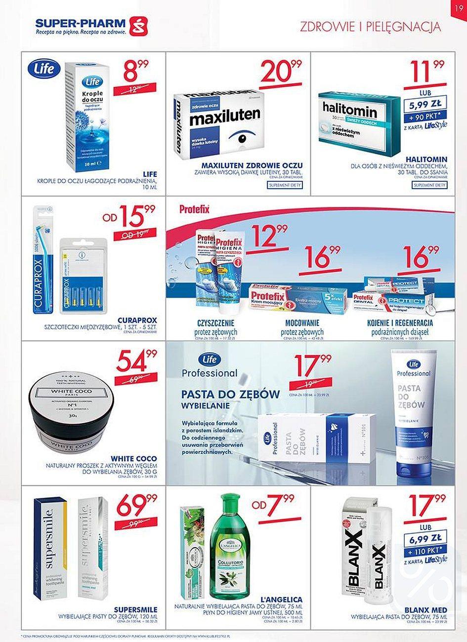 Gazetka promocyjna Superpharm do 08/08/2018 str.19