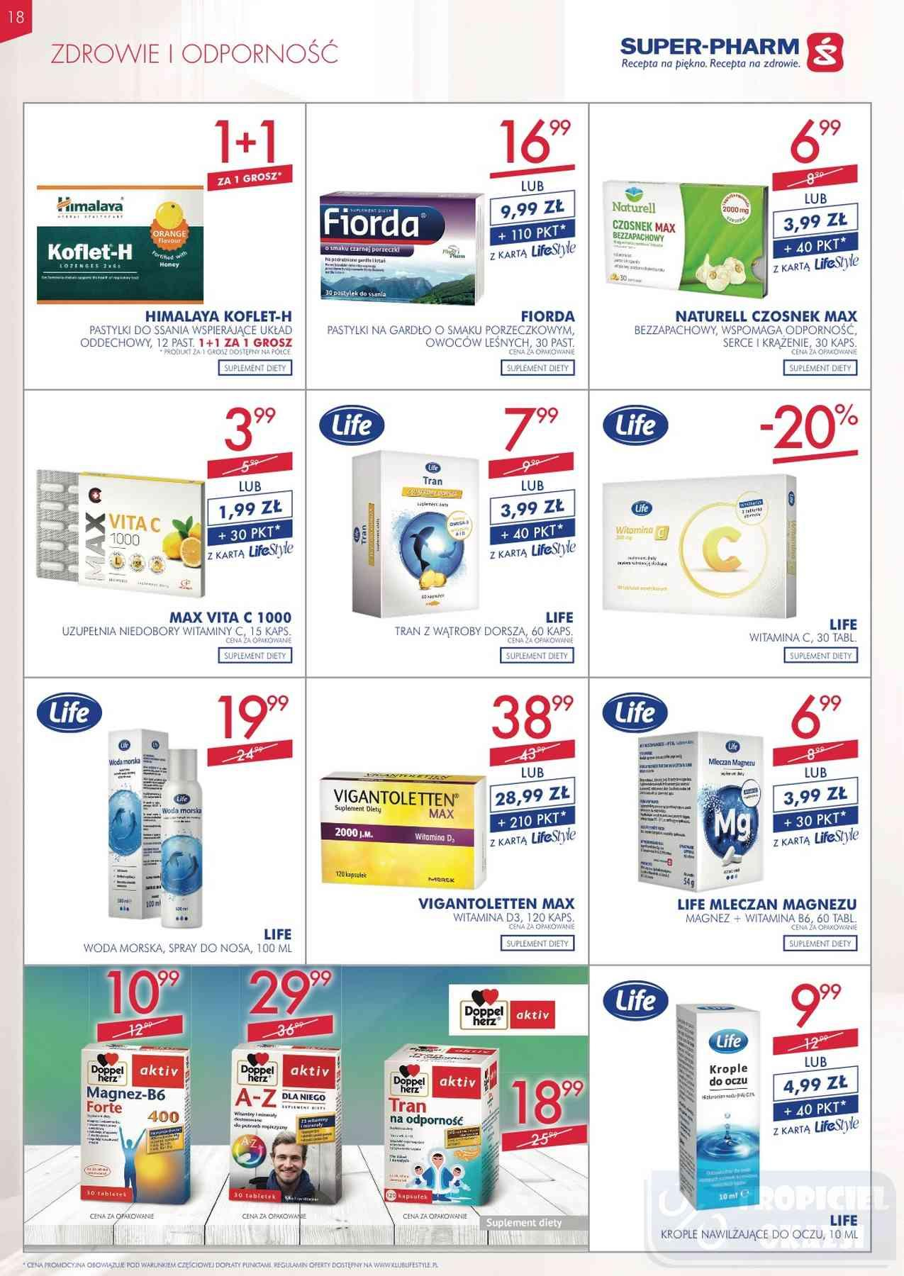 Gazetka promocyjna Superpharm do 12/12/2018 str.18