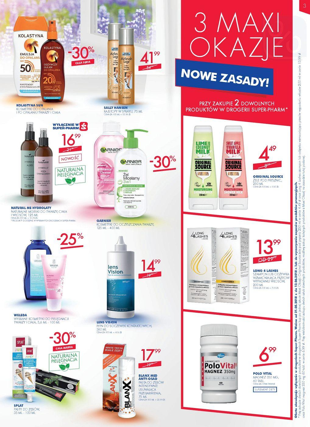 Gazetka promocyjna Superpharm do 13/06/2018 str.2