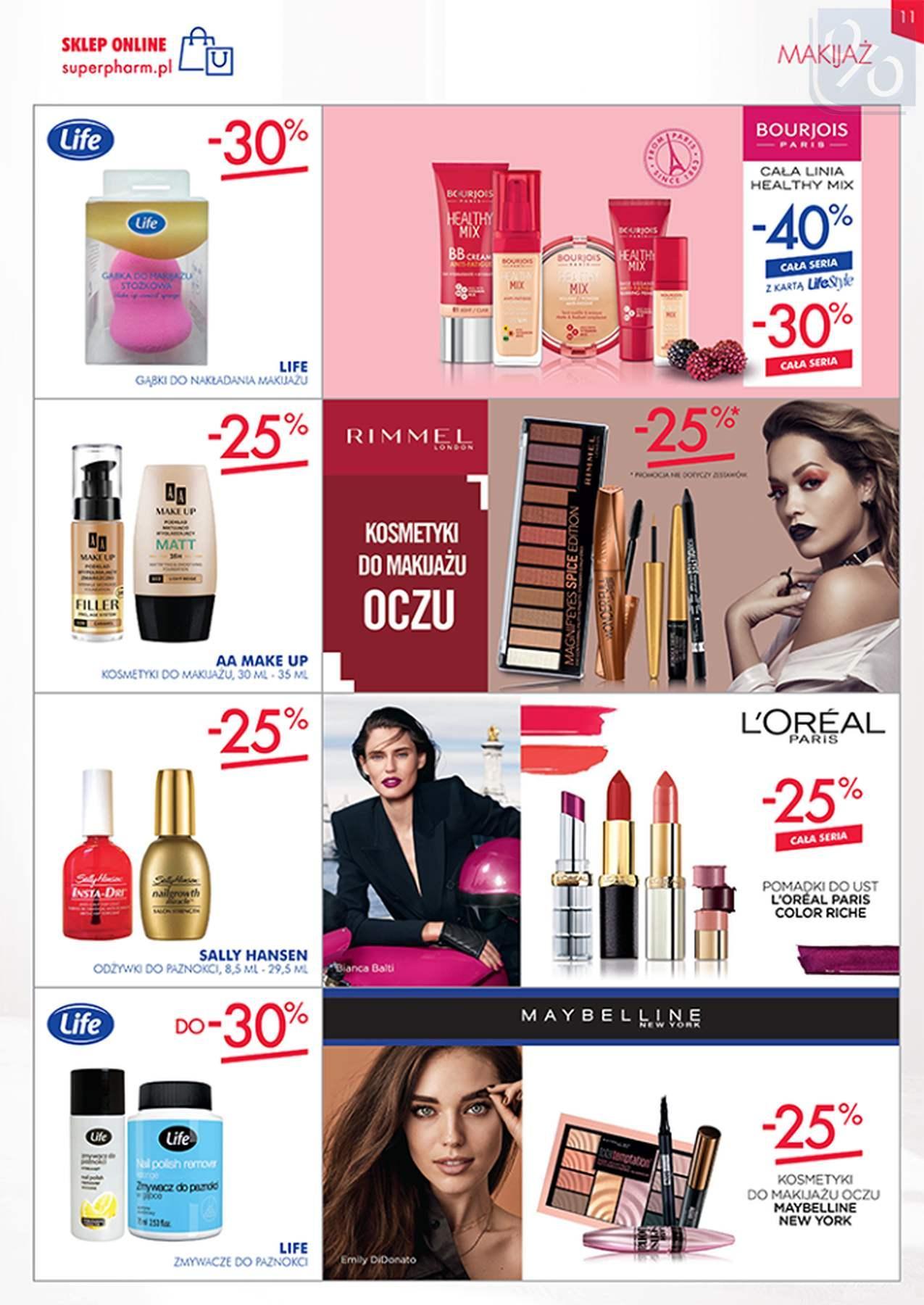 Gazetka promocyjna Superpharm do 23/01/2019 str.11