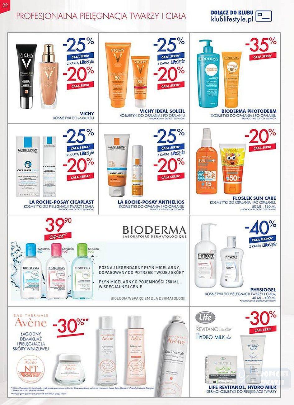 Gazetka promocyjna Superpharm do 25/07/2018 str.22