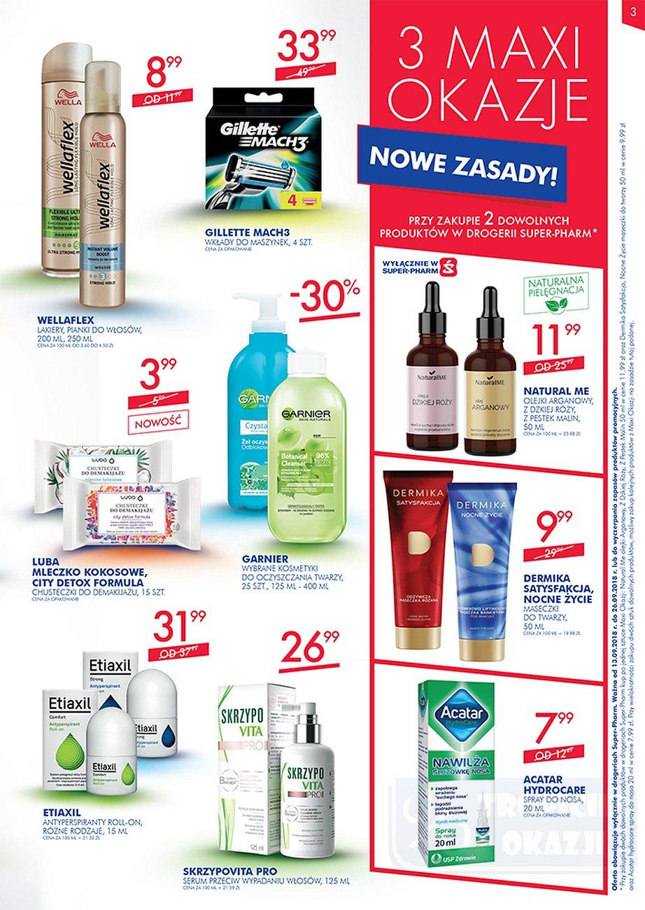 Gazetka promocyjna Superpharm do 26/09/2018 str.2