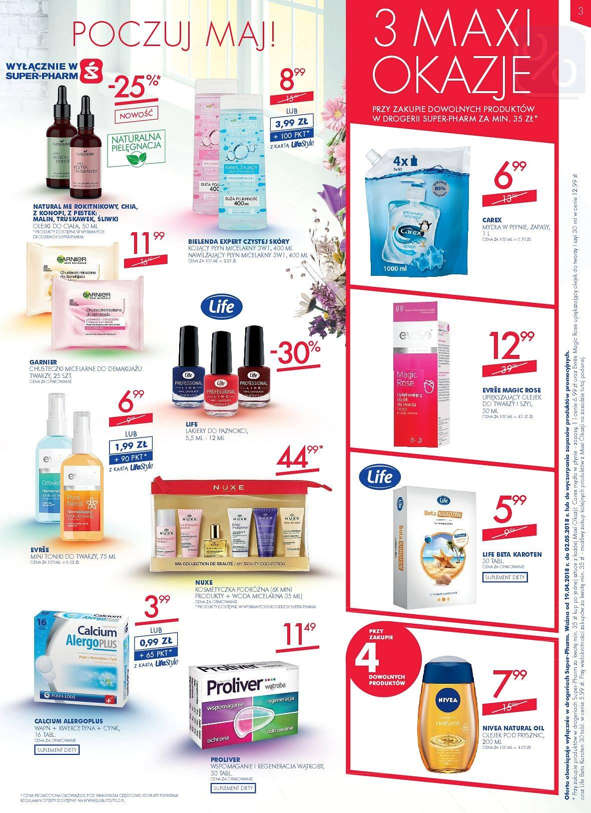 Gazetka promocyjna Superpharm do 02/05/2018 str.2
