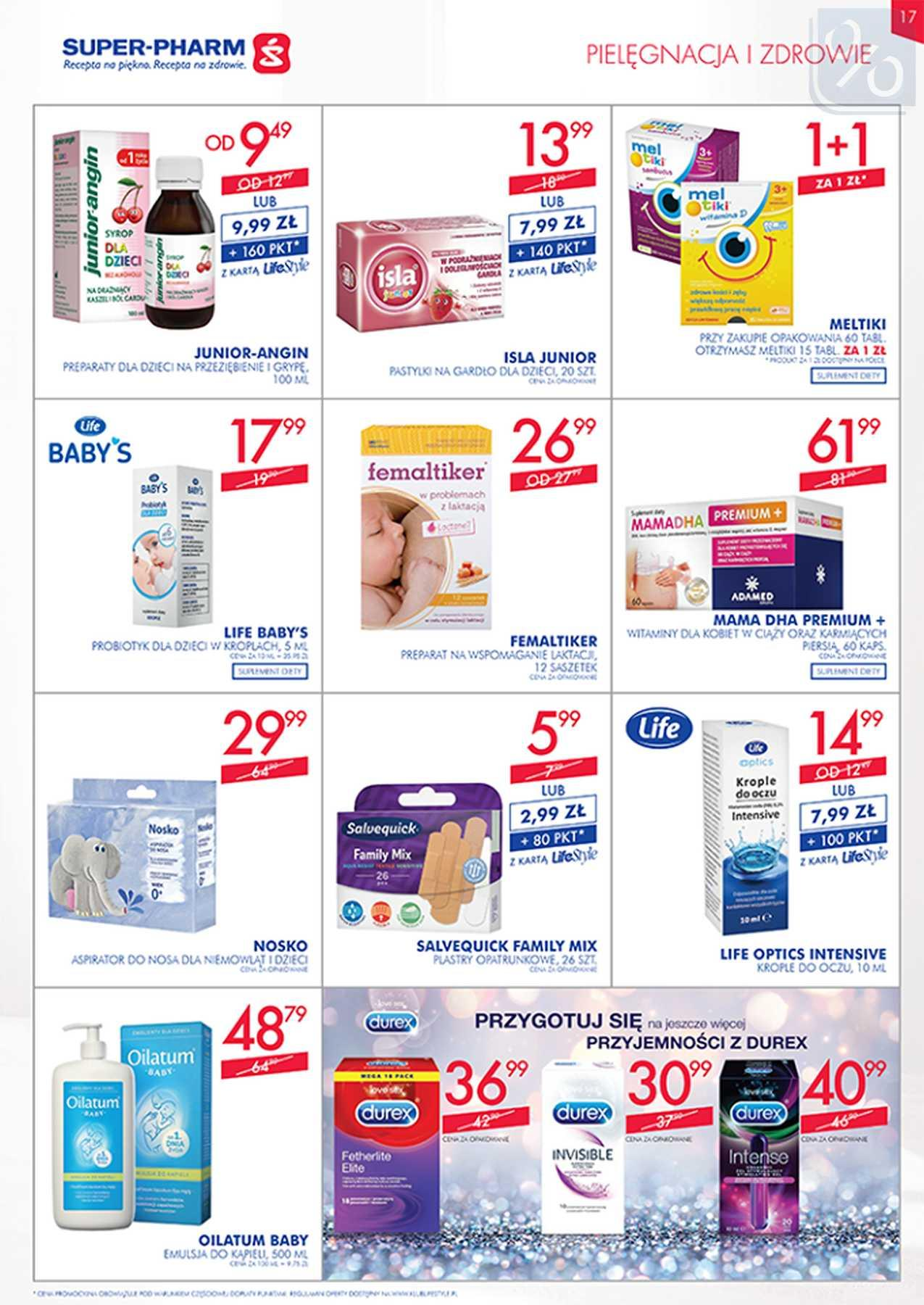 Gazetka promocyjna Superpharm do 23/01/2019 str.16