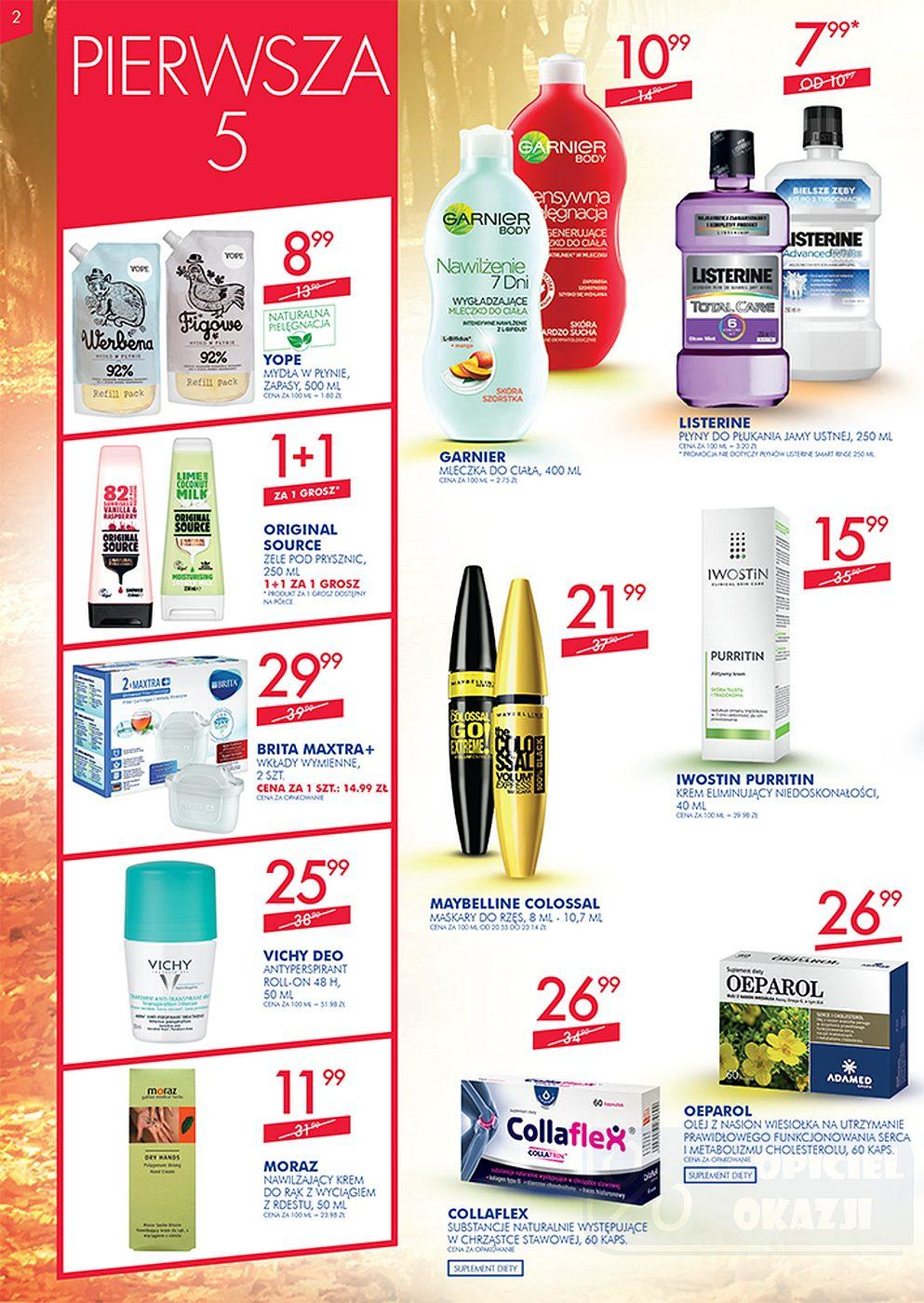 Gazetka promocyjna Superpharm do 10/10/2018 str.1