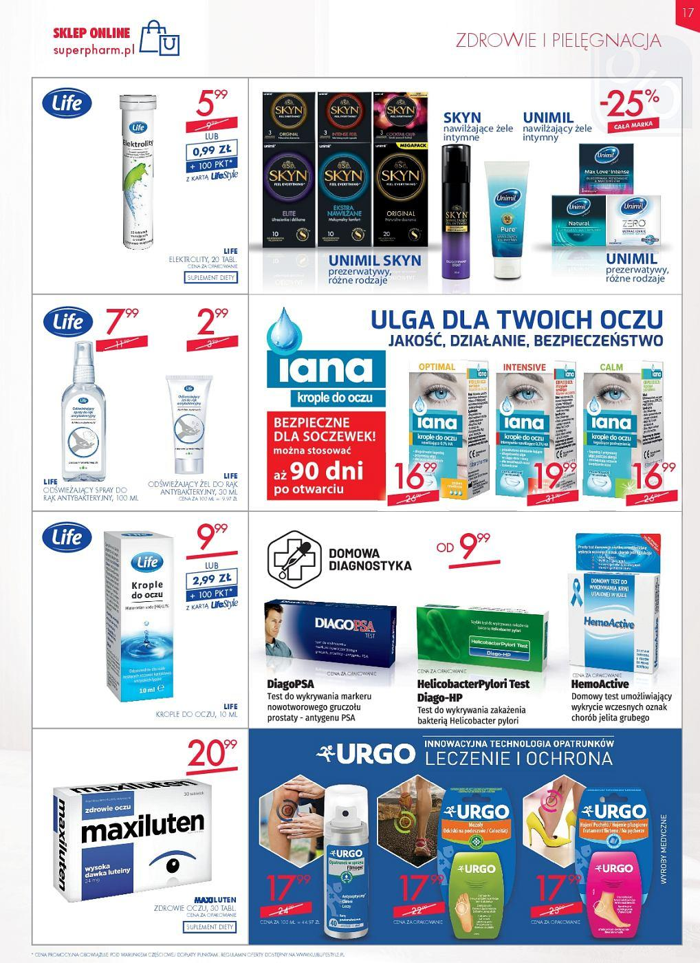 Gazetka promocyjna Superpharm do 13/06/2018 str.17