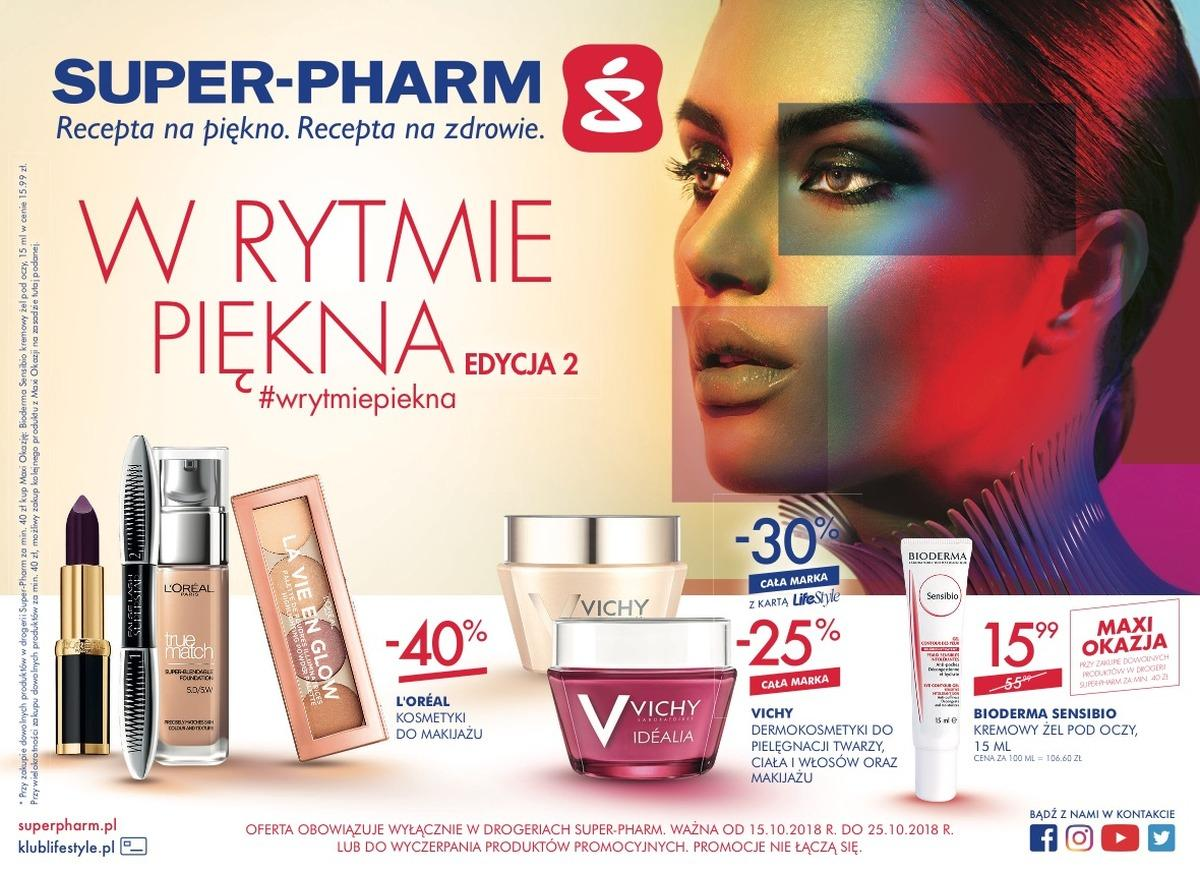 Gazetka promocyjna Superpharm do 25/10/2018 str.1
