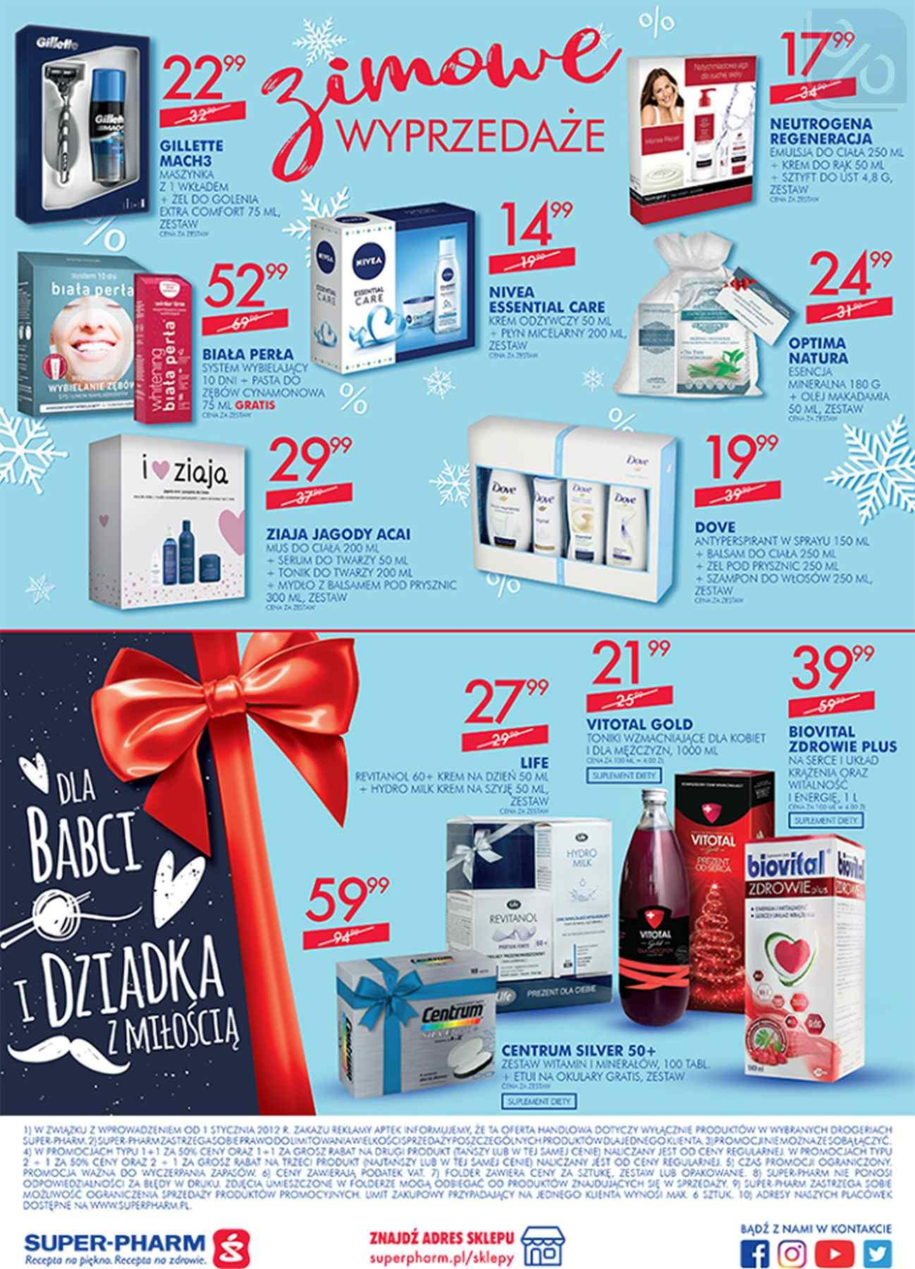 Gazetka promocyjna Superpharm do 23/01/2019 str.20