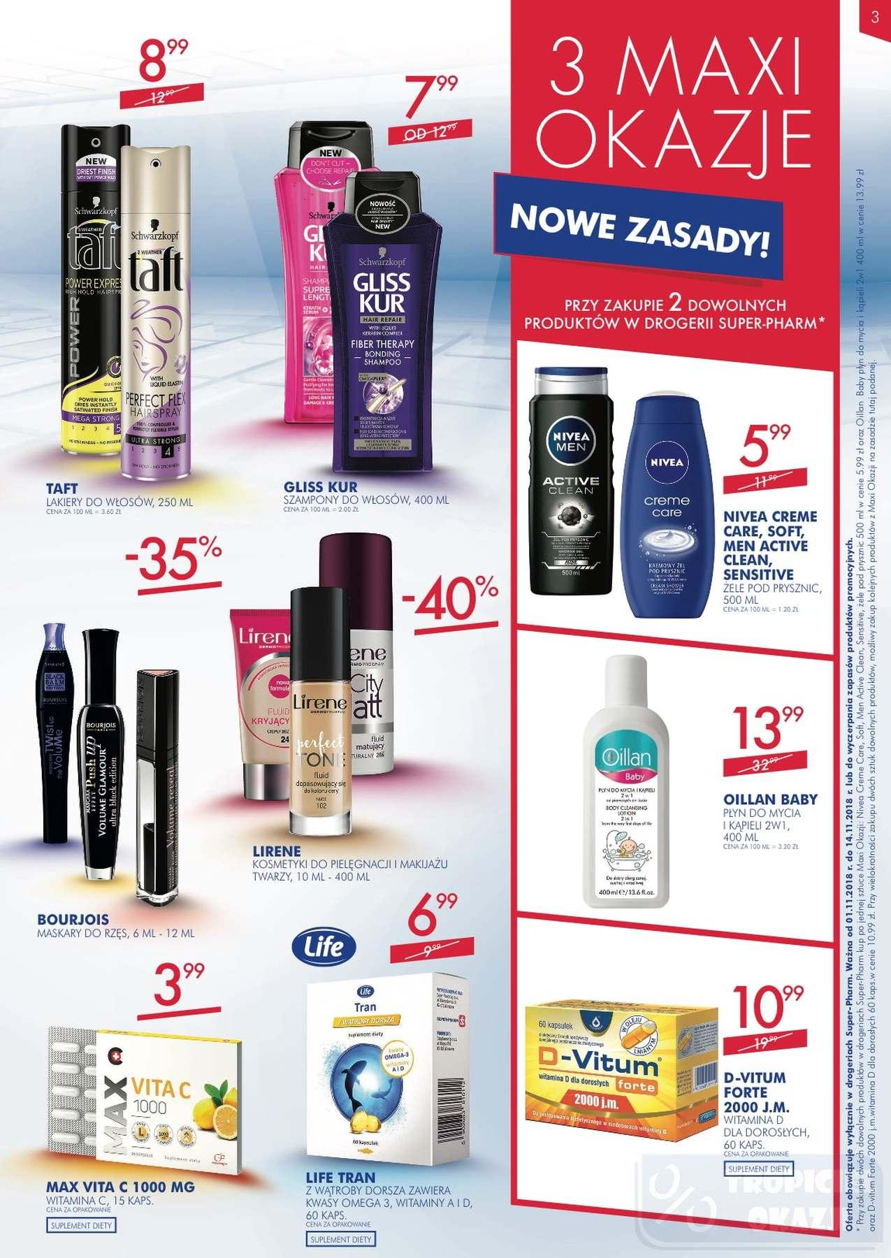 Gazetka promocyjna Superpharm do 14/11/2018 str.2