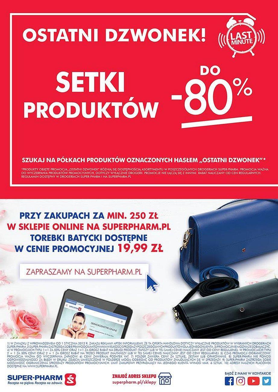Gazetka promocyjna Superpharm do 22/08/2018 str.23