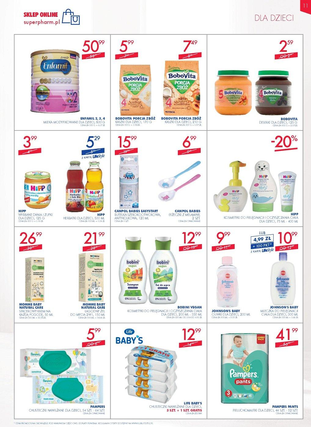 Gazetka promocyjna Superpharm do 11/07/2018 str.11