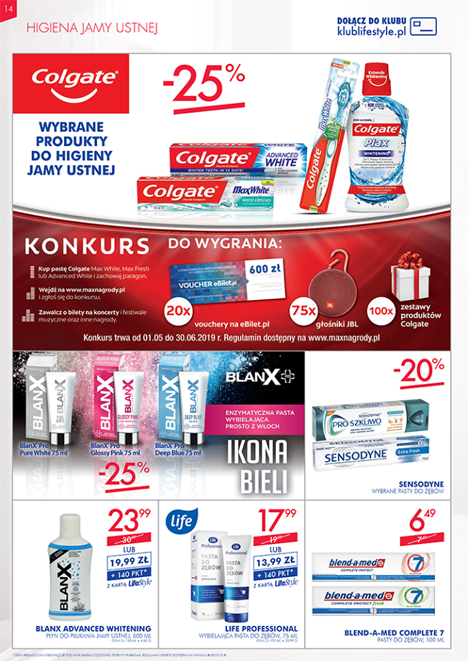 Gazetka promocyjna Superpharm do 22/05/2019 str.14