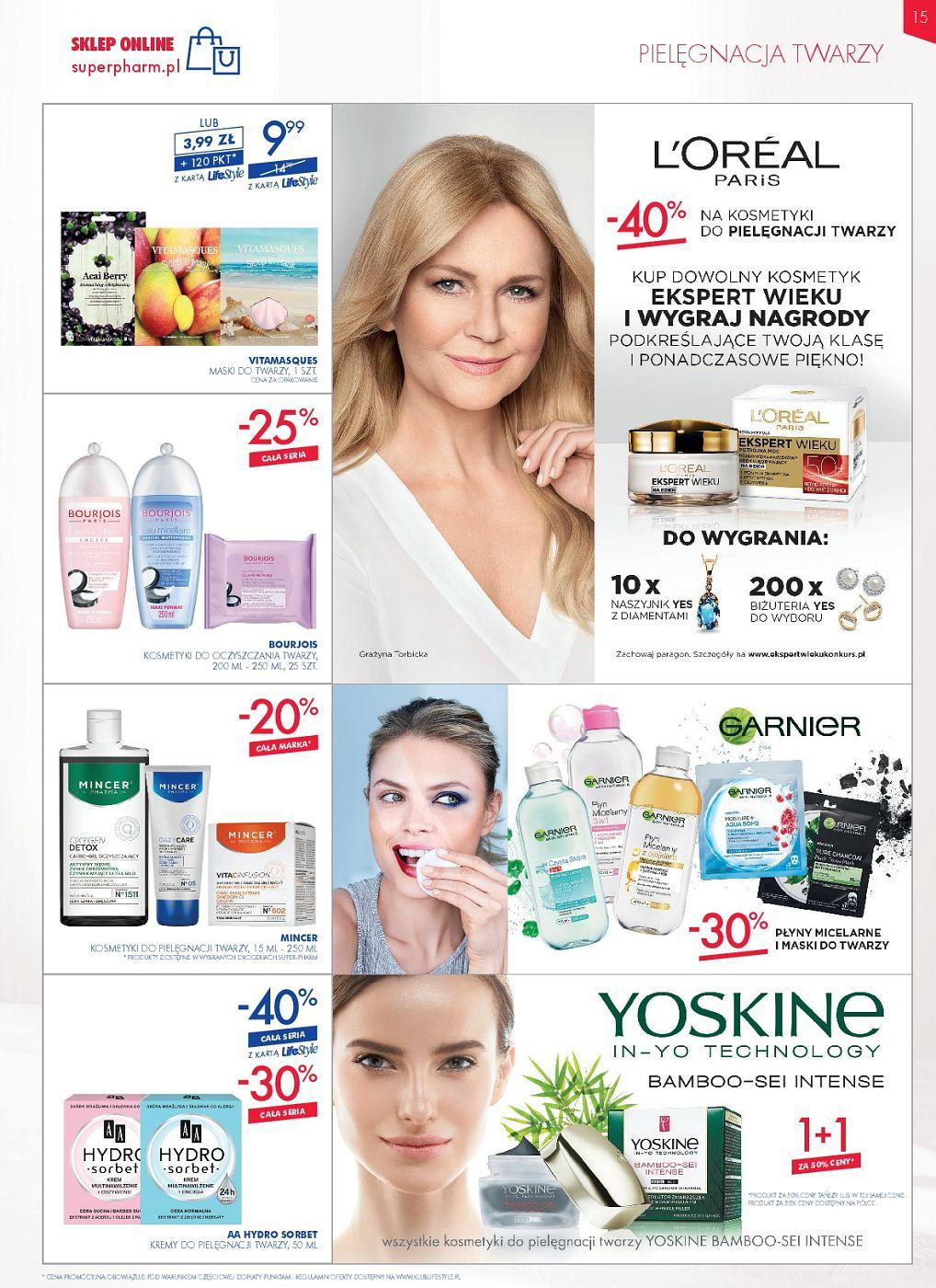 Gazetka promocyjna Superpharm do 11/07/2018 str.14