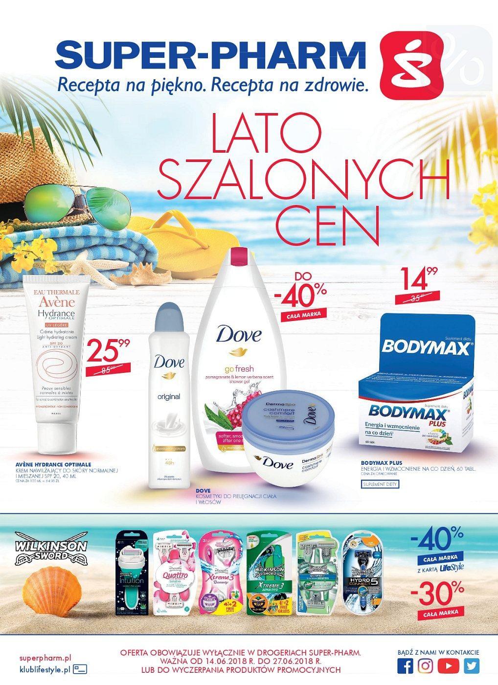 Gazetka promocyjna Superpharm do 27/06/2018 str.1