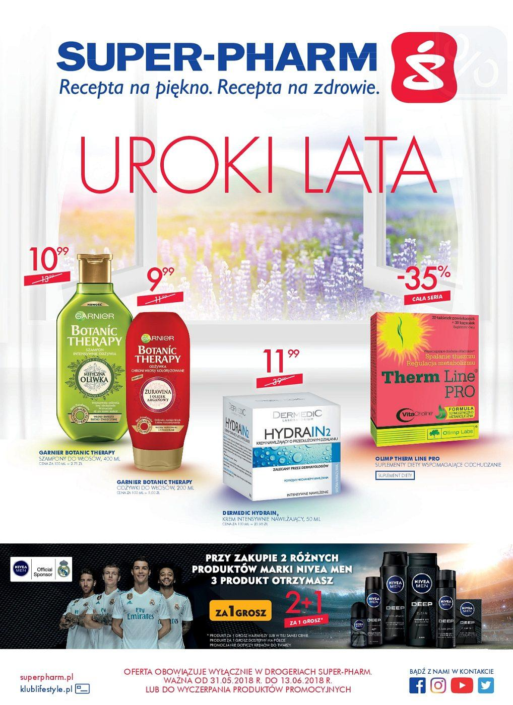 Gazetka promocyjna Superpharm do 13/06/2018 str.1
