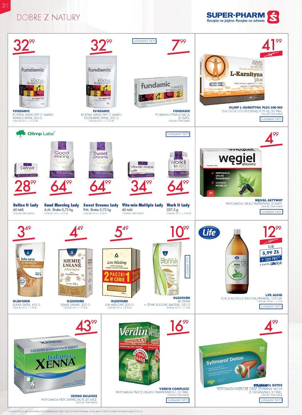 Gazetka promocyjna Superpharm do 11/07/2018 str.20