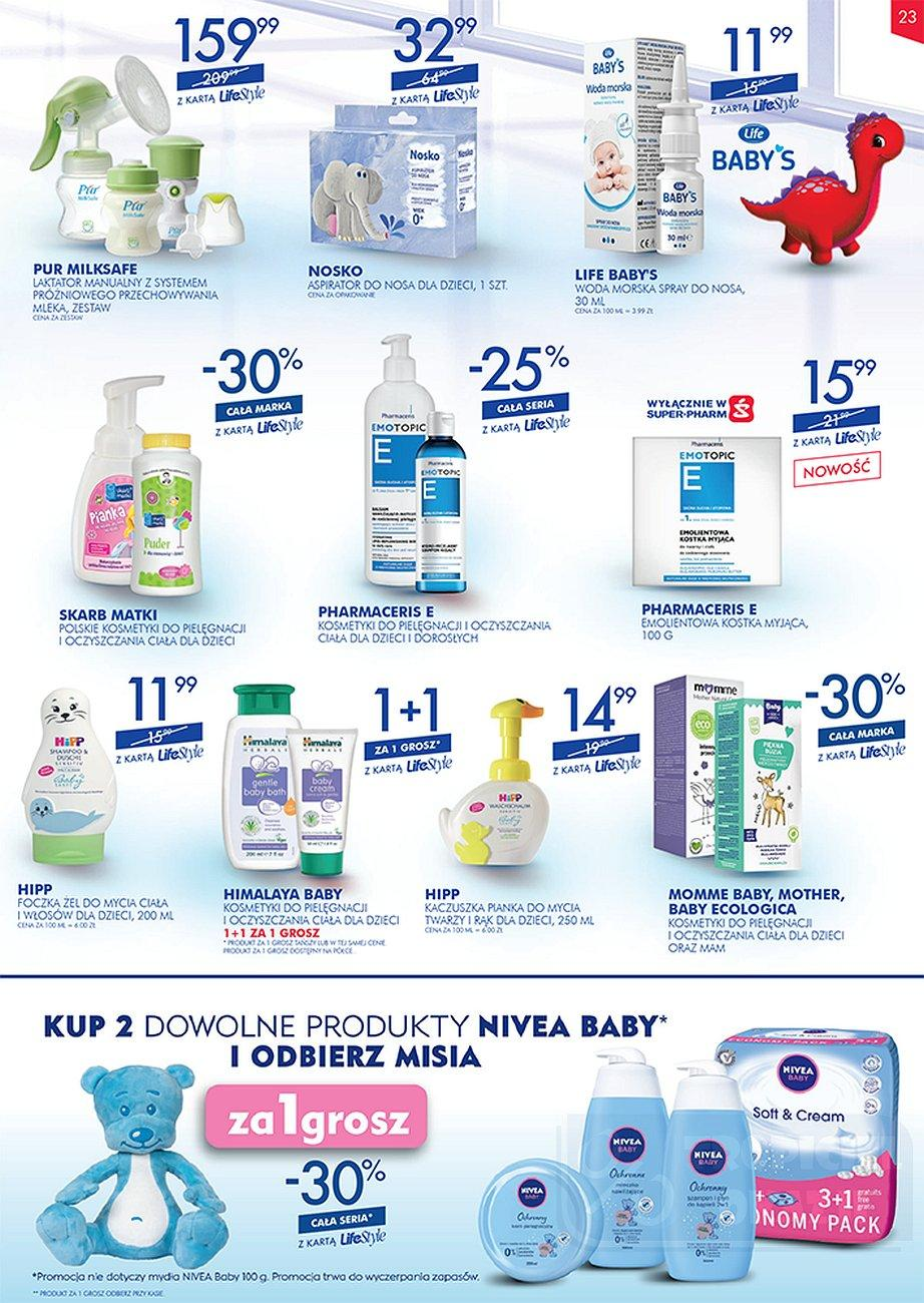 Gazetka promocyjna Superpharm do 26/09/2018 str.23