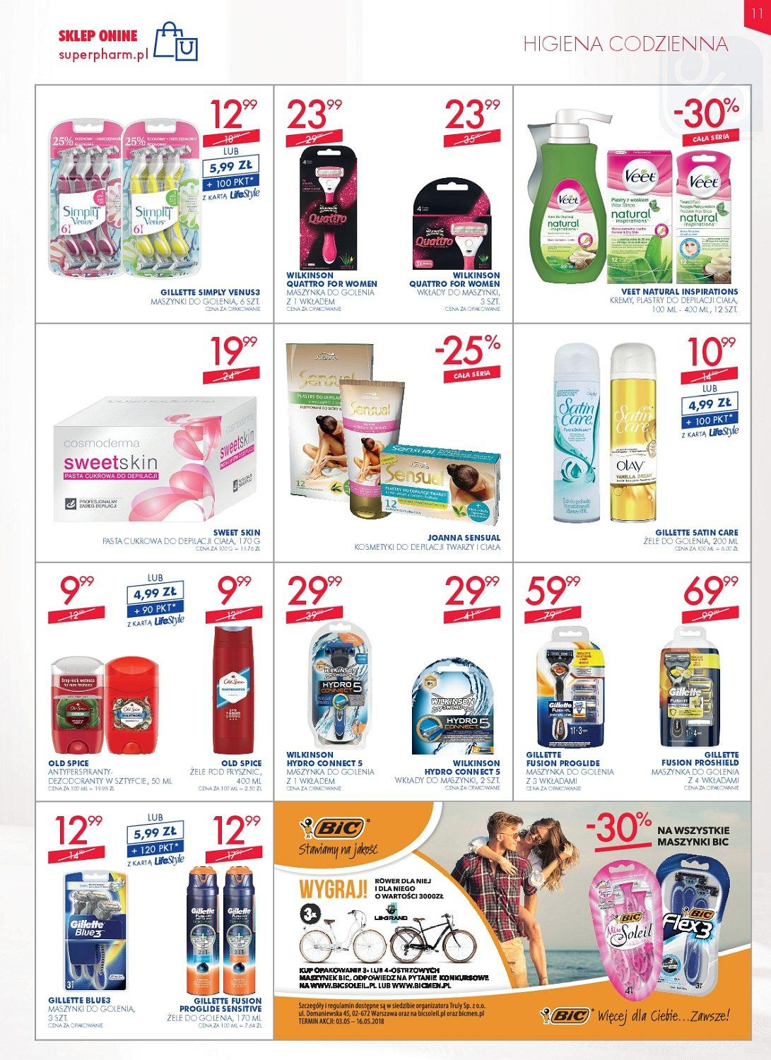 Gazetka promocyjna Superpharm do 16/05/2018 str.11