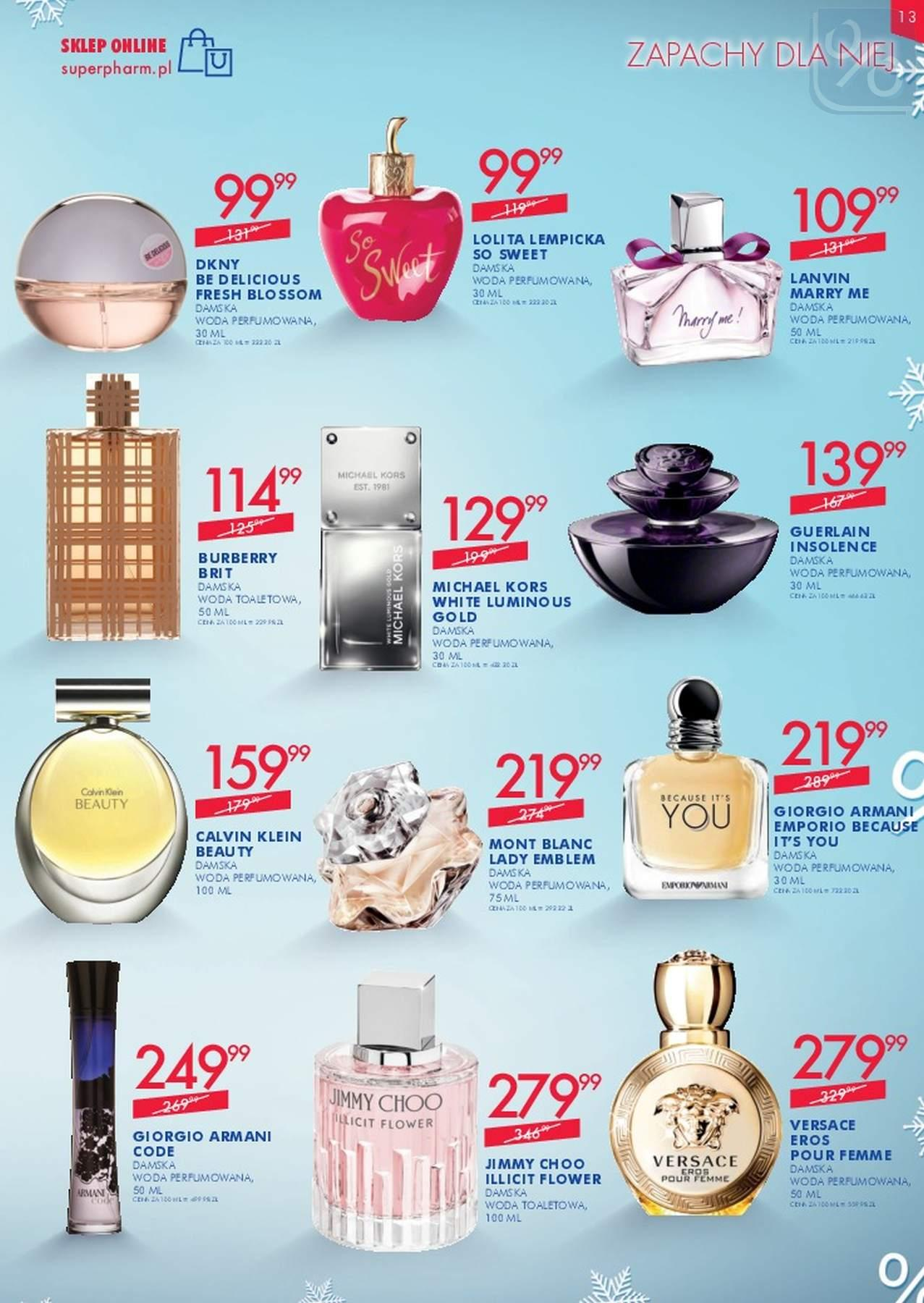 Gazetka promocyjna Superpharm do 23/01/2019 str.12