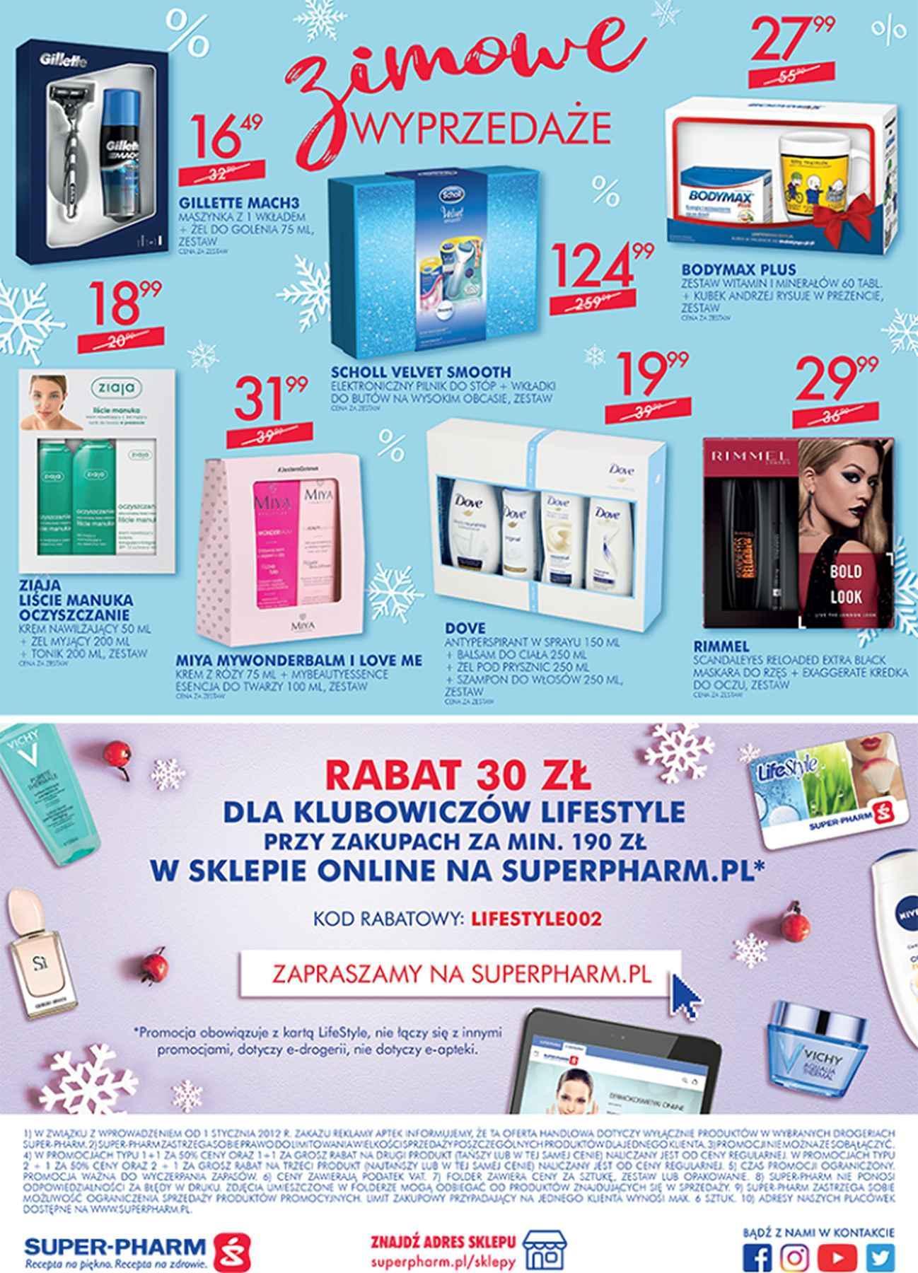 Gazetka promocyjna Superpharm do 06/02/2019 str.19