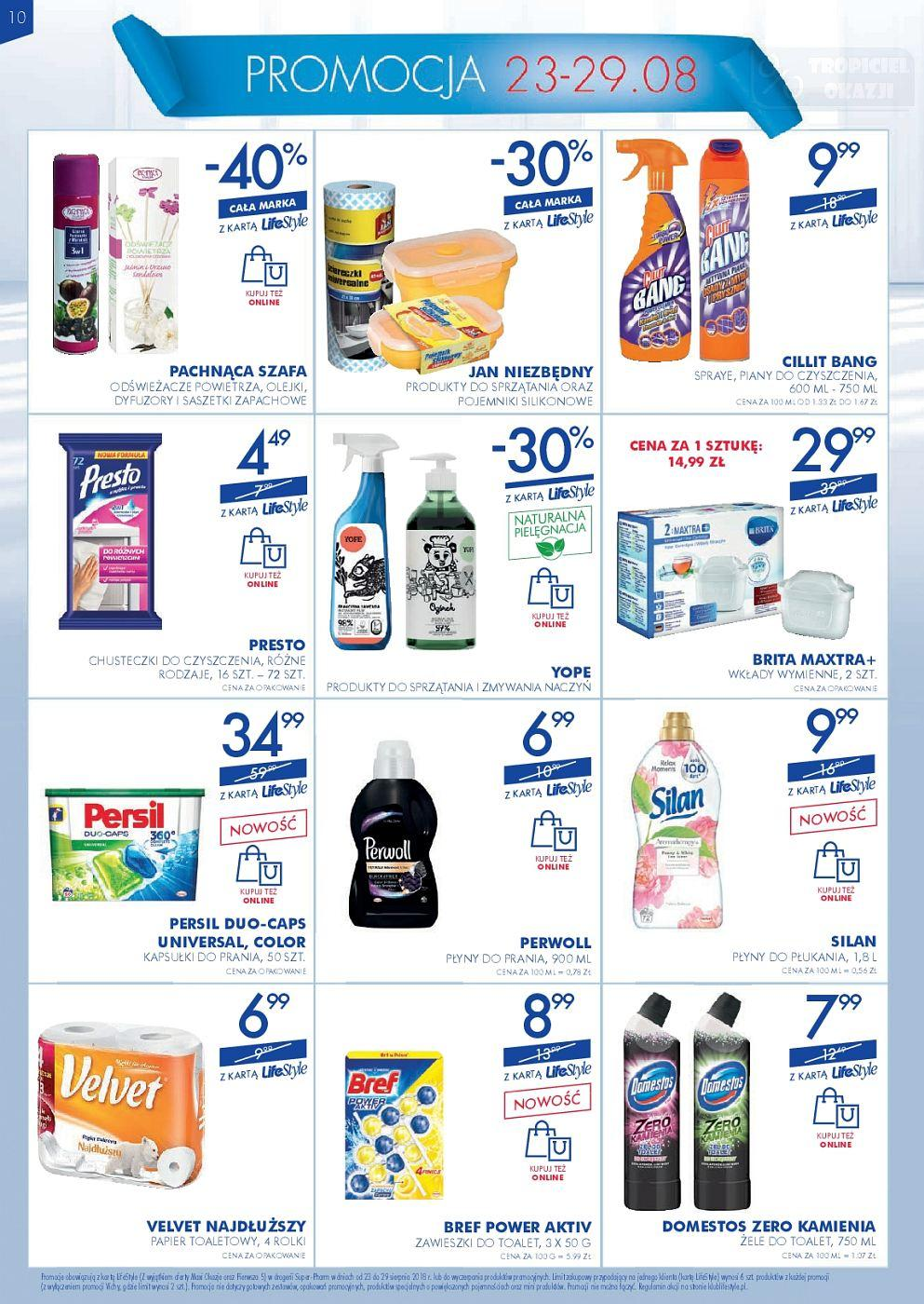 Gazetka promocyjna Superpharm do 29/08/2018 str.9