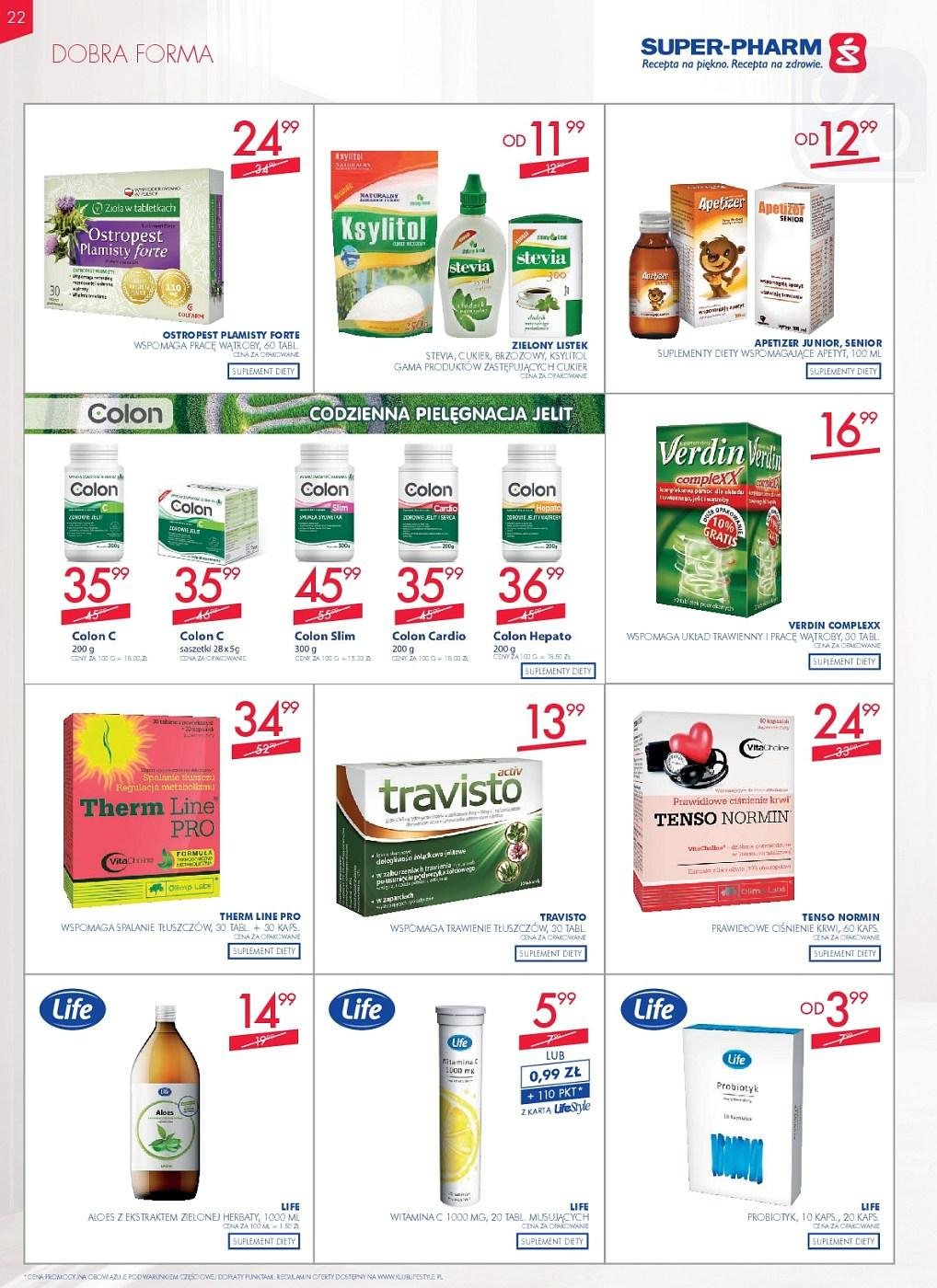 Gazetka promocyjna Superpharm do 27/06/2018 str.22