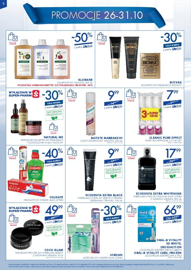 Gazetka promocyjna Superpharm do 31/10/2018 str.7