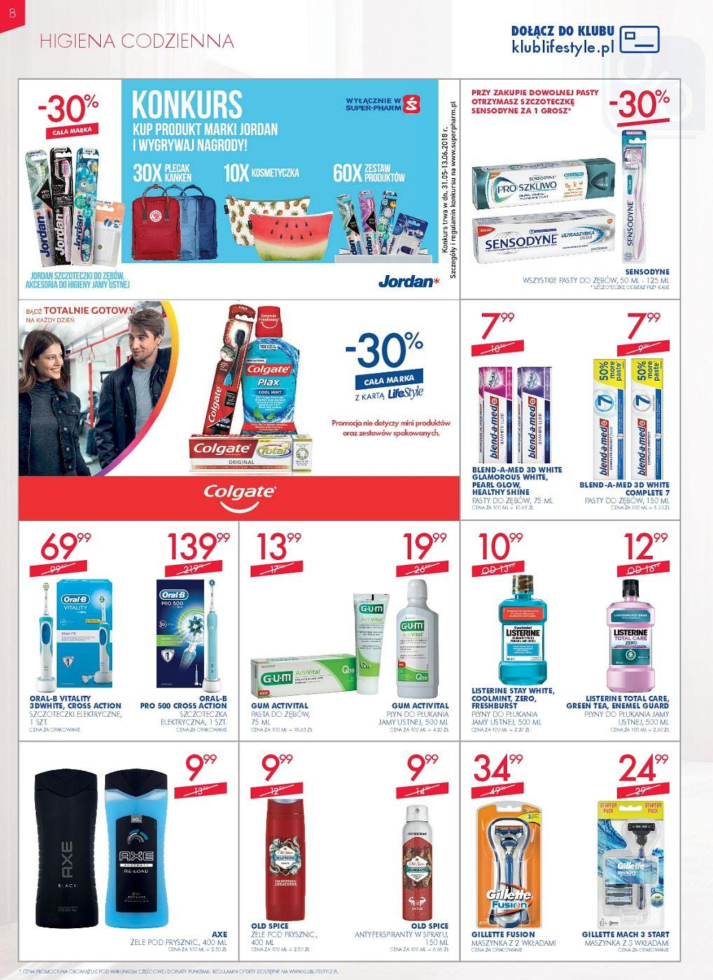 Gazetka promocyjna Superpharm do 13/06/2018 str.8