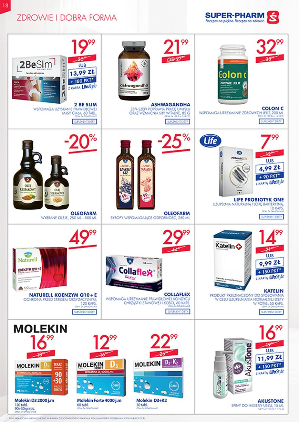 Gazetka promocyjna Superpharm do 13/03/2019 str.18