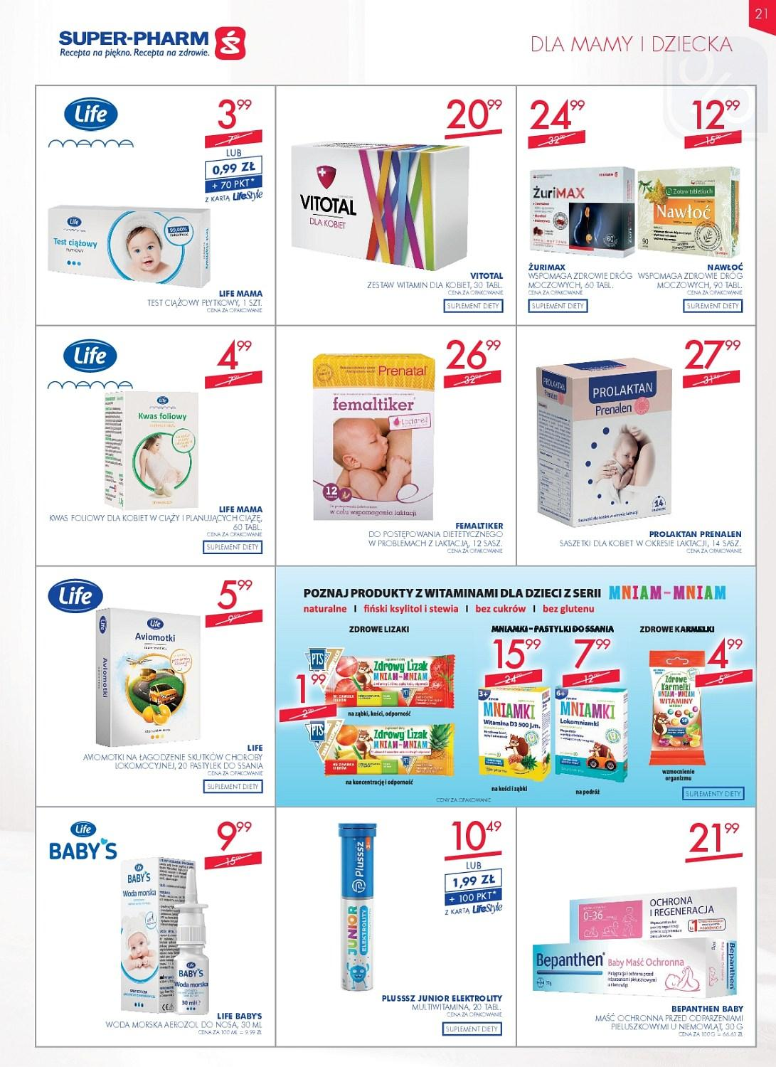 Gazetka promocyjna Superpharm do 16/05/2018 str.20