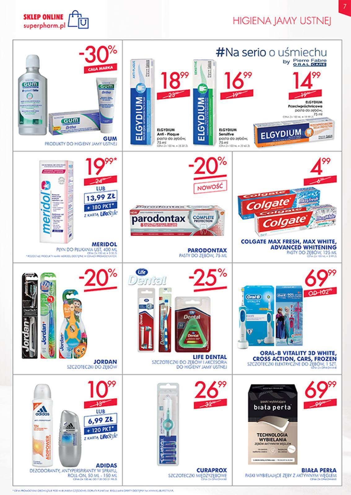 Gazetka promocyjna Superpharm do 13/03/2019 str.7