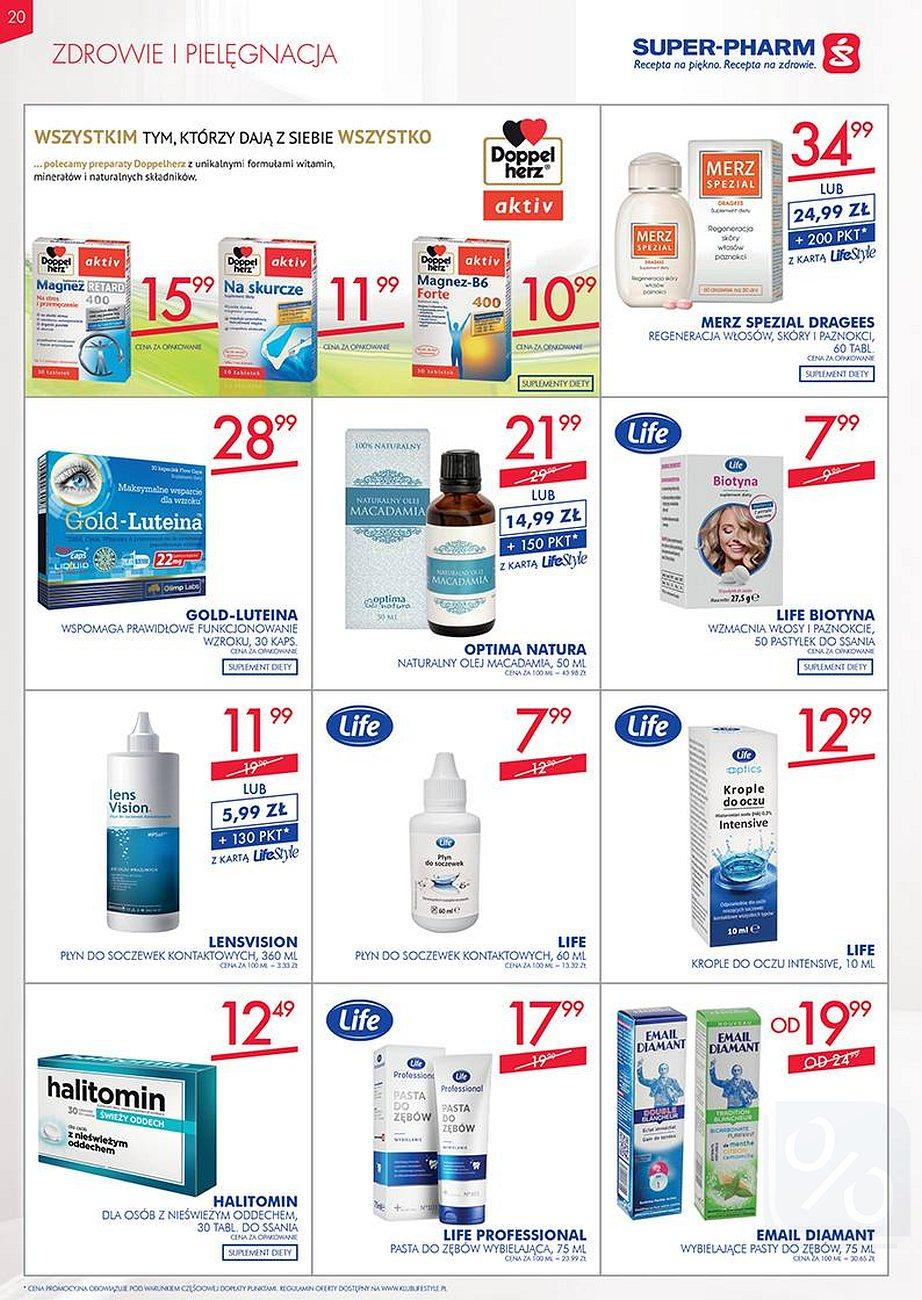 Gazetka promocyjna Superpharm do 22/08/2018 str.20