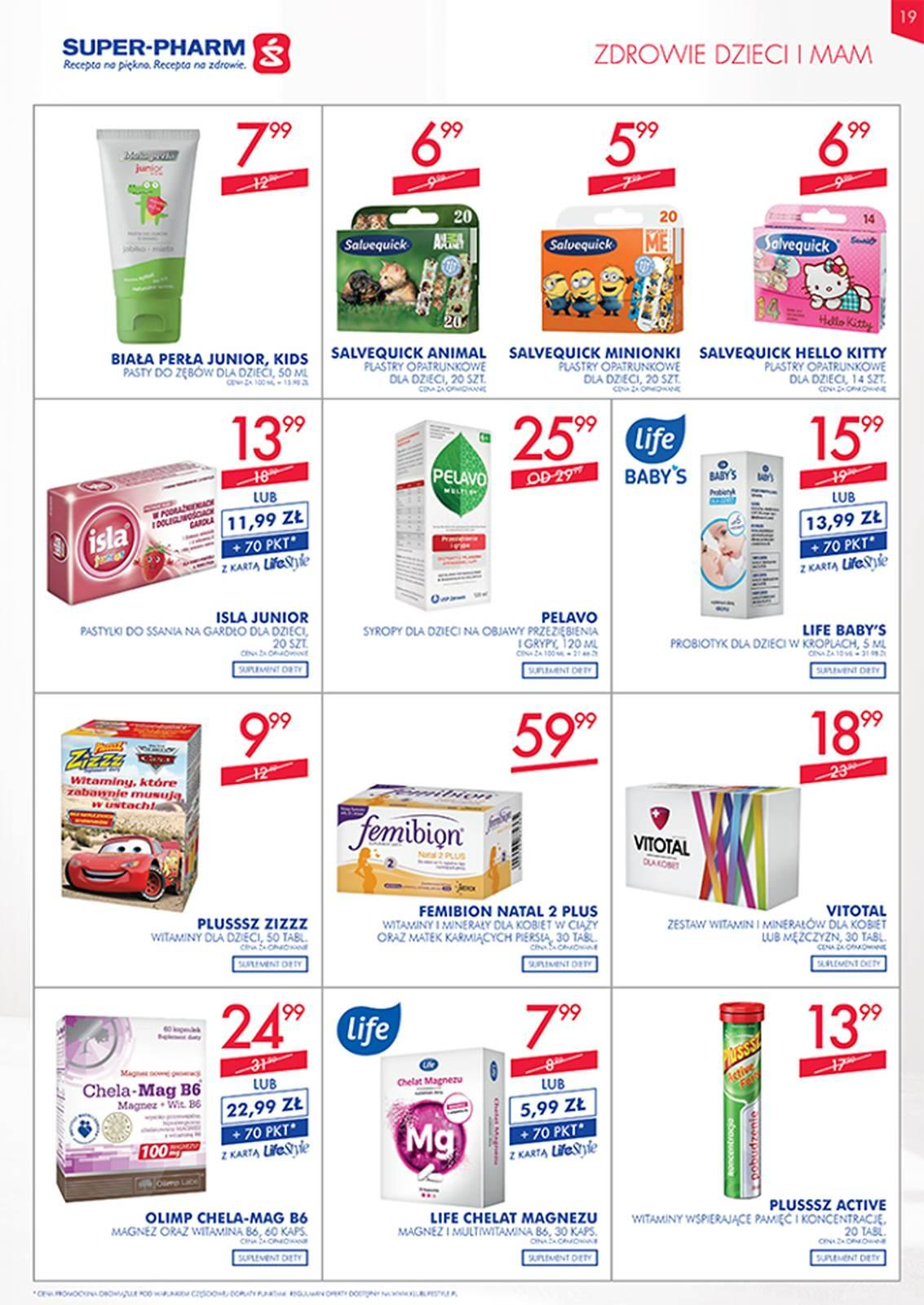 Gazetka promocyjna Superpharm do 08/05/2019 str.19