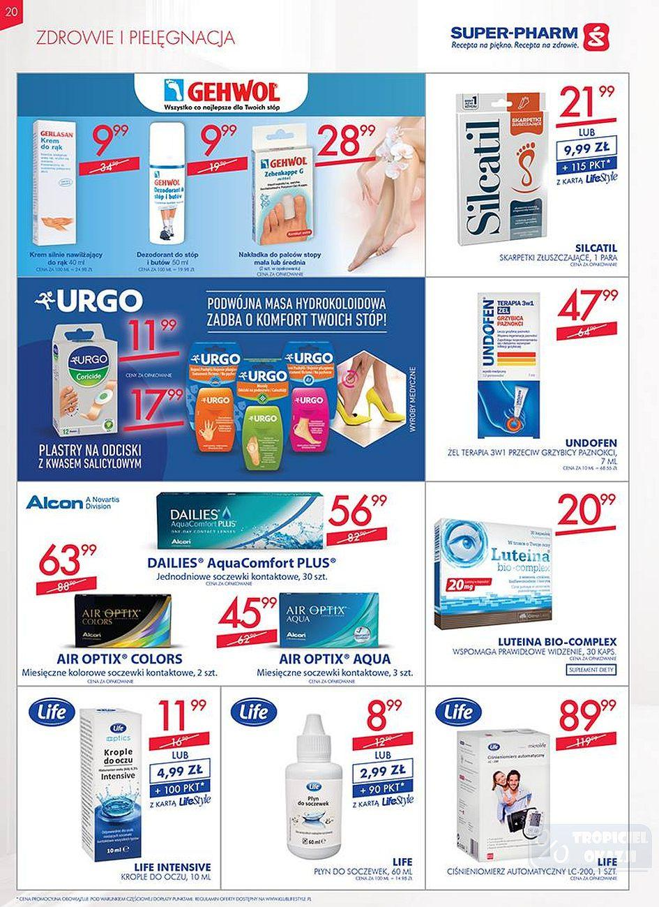 Gazetka promocyjna Superpharm do 25/07/2018 str.20