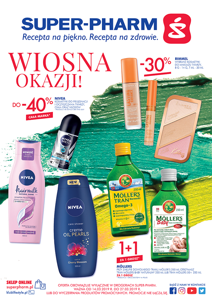 Gazetka promocyjna Superpharm do 27/03/2019 str.1