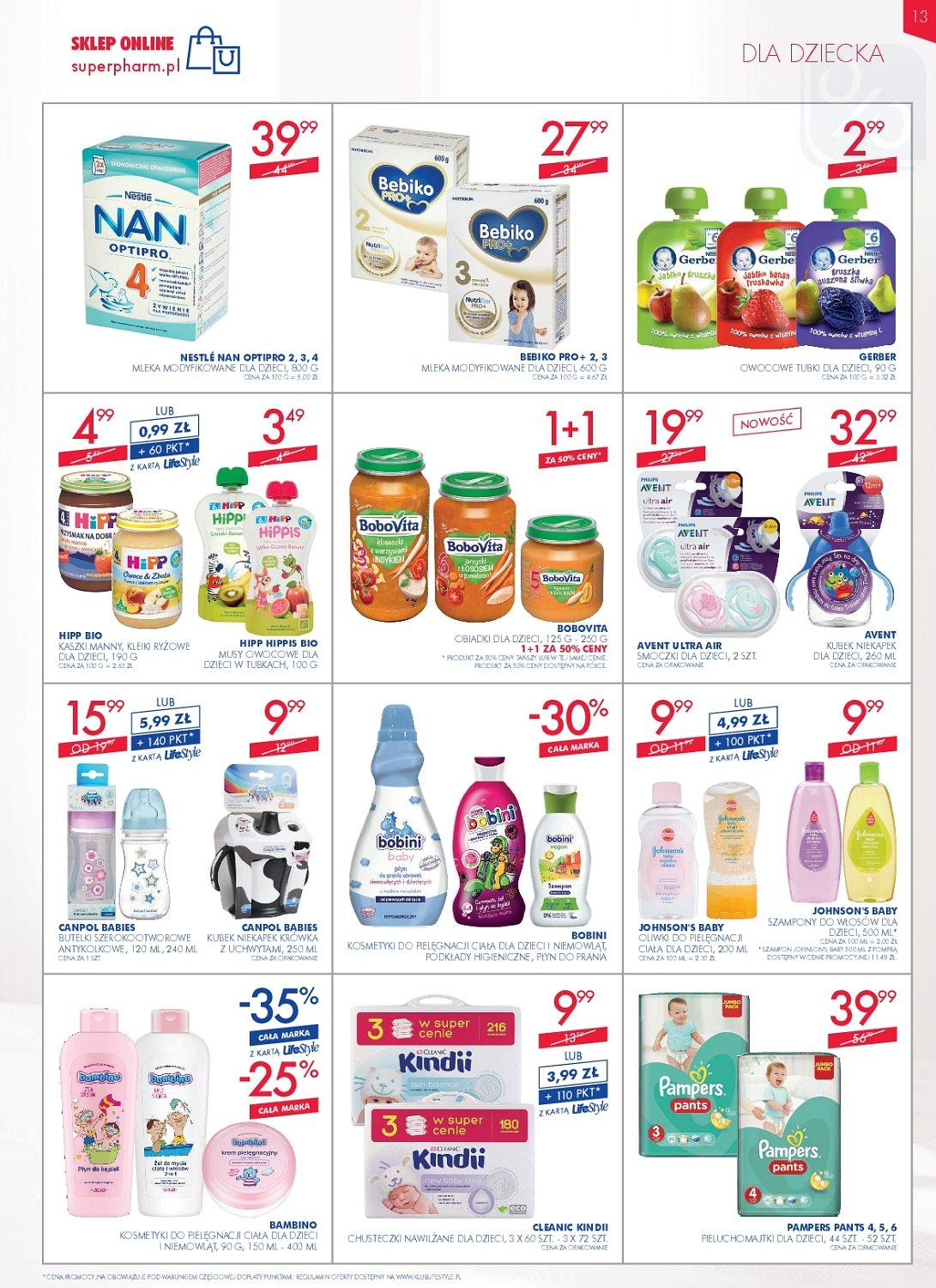 Gazetka promocyjna Superpharm do 16/05/2018 str.12