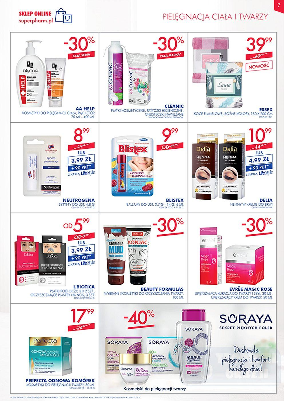 Gazetka promocyjna Superpharm do 10/10/2018 str.6