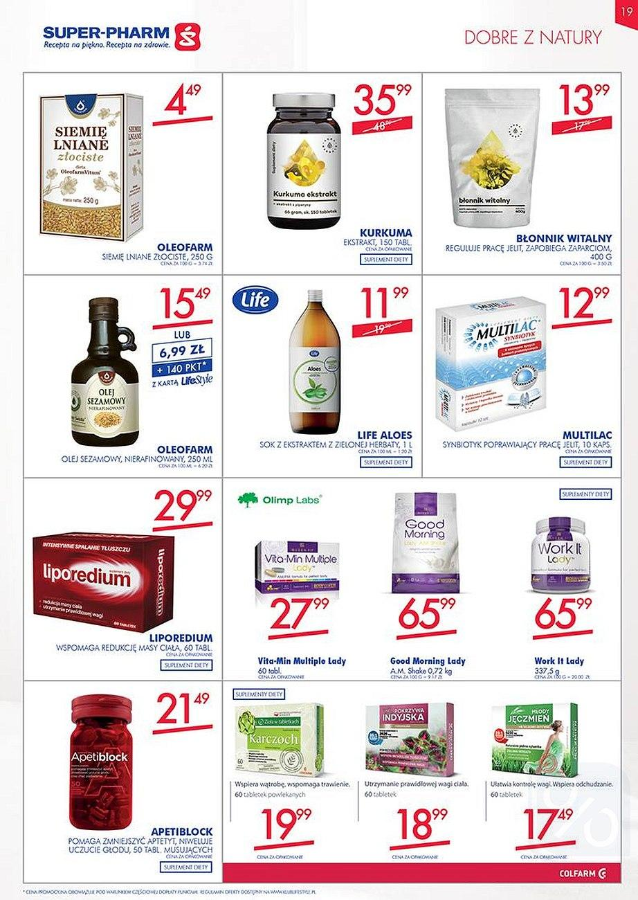 Gazetka promocyjna Superpharm do 22/08/2018 str.18